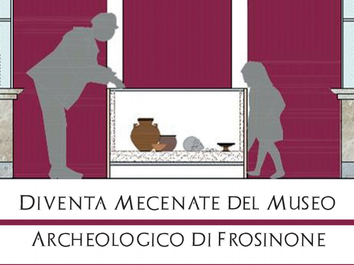ART BONUS museo Archeologico di Frosinone. Diventa Mecenate
