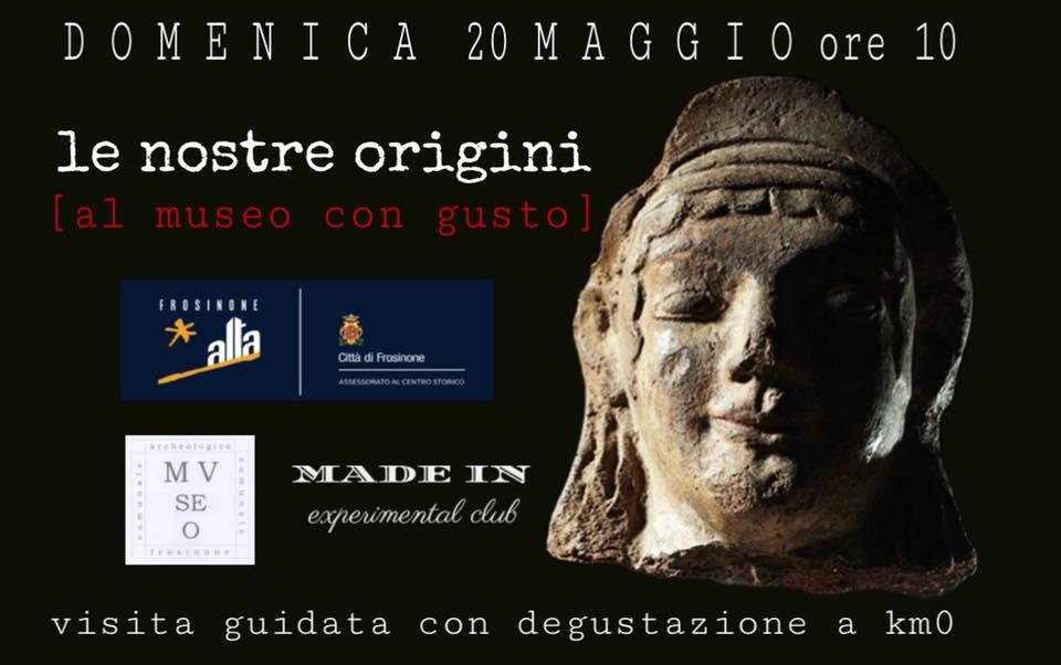 Le nostre origini è [ al museo con gusto ]