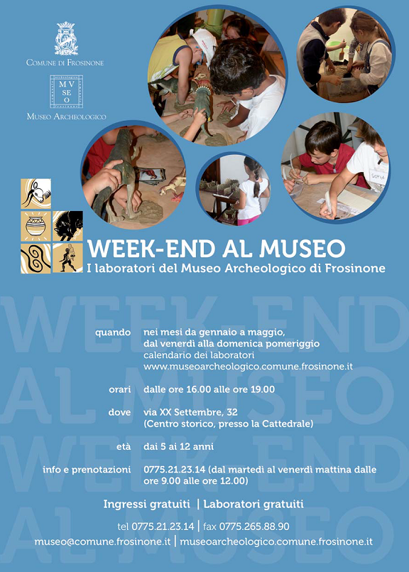 WEEK-END AL MUSEO 2017